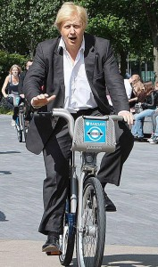 Boris on his bike