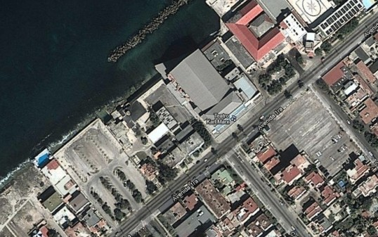 Havana on Google Maps Satellite view