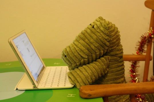 Typing hard